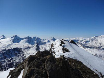 Photo Raid à ski entre Paradis et Vanoise
