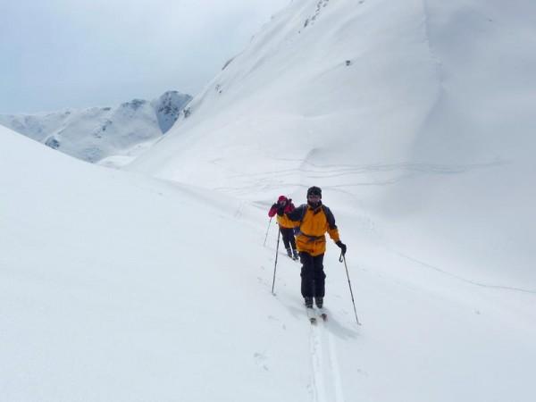 en Ubaye - GTA - grande traversée des alpes à ski