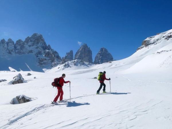 Ski de randonnée dans les Dolomites