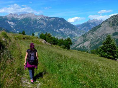 Sur le chemin de Saint-Jacques de Compostelle dans les Alpes