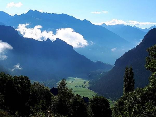 Vallée de Freissinières (Ecrins) -  Sur le chemin de Saint-Jacques de Compostelle dans les Alpes