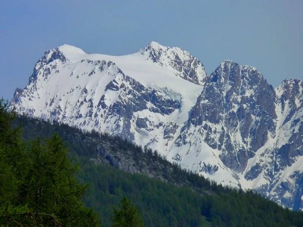 Glacier du Mont Pelvoux (Ecrins) -  Sur le chemin de Saint-Jacques de Compostelle dans les Alpes