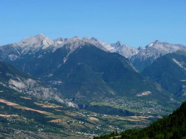 Vallée de la Durance -  Sur le chemin de Saint-Jacques de Compostelle dans les Alpes