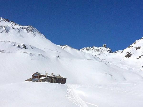 Refuge des Drayères - Raid ski Mont-Thabor Clarée