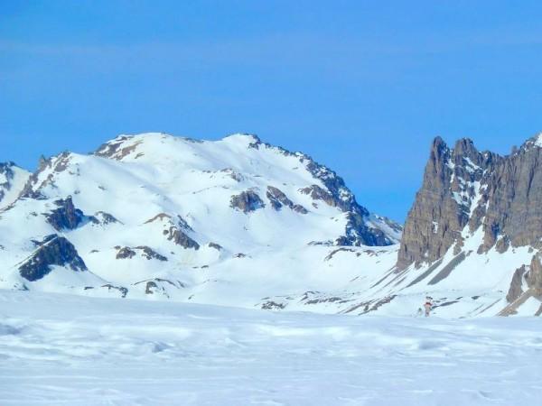 Mont-Thabor vu depuis la Vallée Etroite