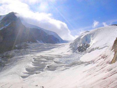 Glacier du Grand Paradis