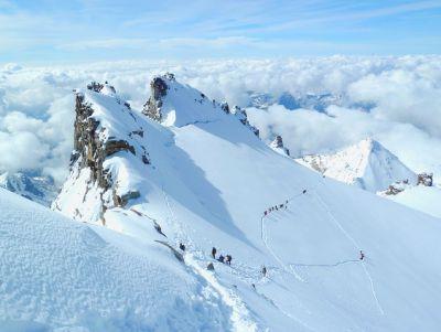 Sommet du Glacier du Grand Paradis
