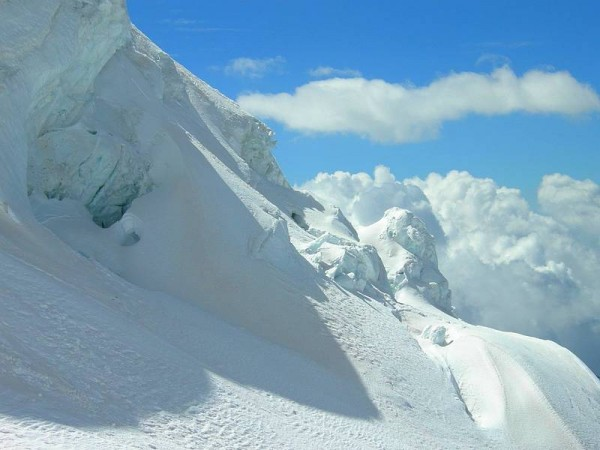 Voie Normale de la Pyramide Vincent et Balmenhorn - Mont-Rose