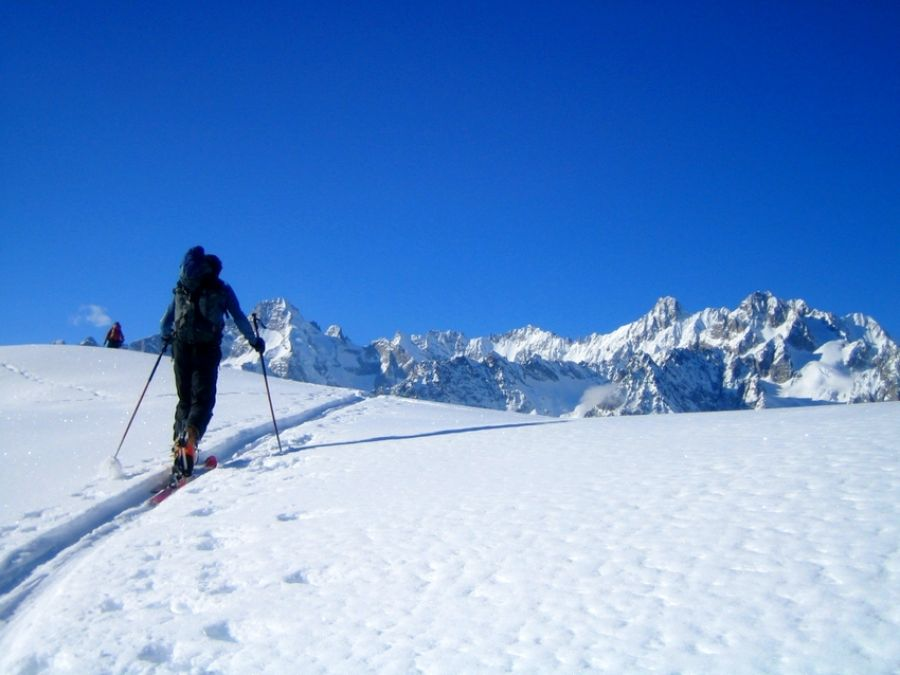 Initiation ski de rando Oisans - Meije