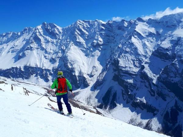 Col du Bal - Vallon de Narreyroux - Ski Rando Ecrins