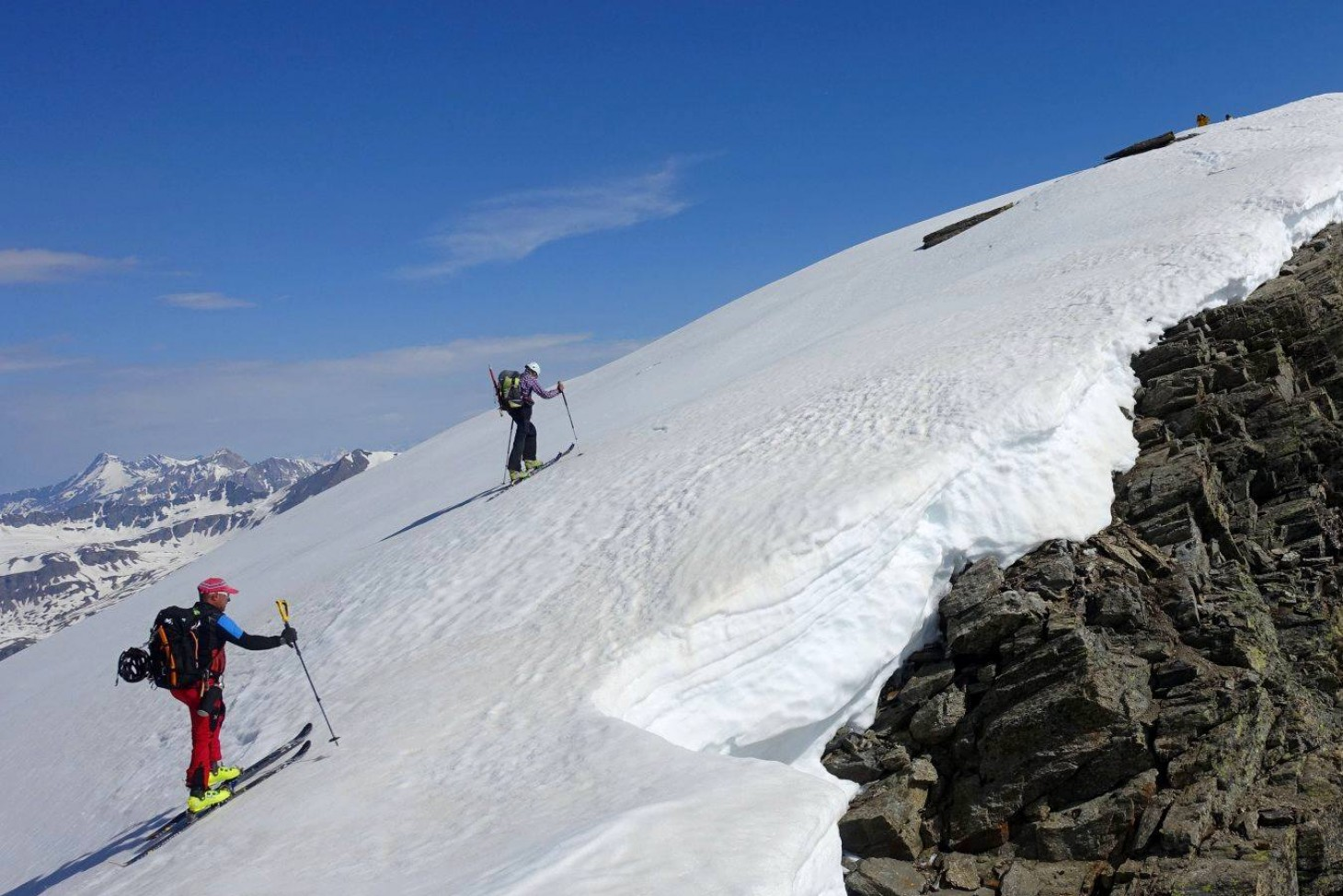 Raid de l'Albaron (3637 m)
