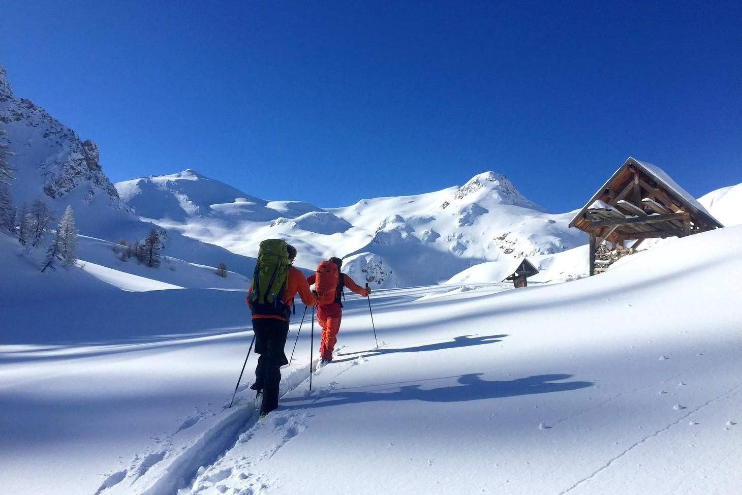 2 Jours de raid à ski en Clarée