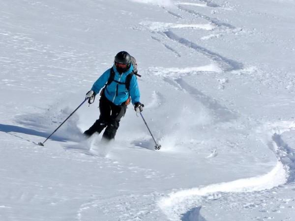 Dôme des Ecrins à ski