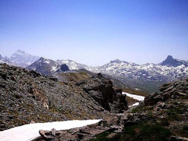 Mont-Viso et Tête des Toillies Parc Régional du Queyras