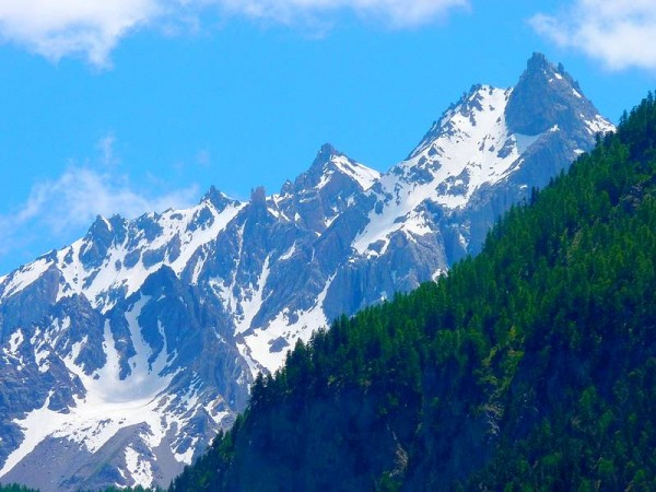 Font Sancte plus haut sommet du Parc Régional du Queyras