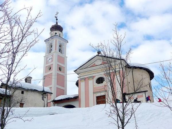 Eglise de Chialvetta val maira
