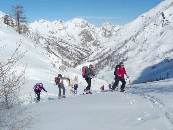 Ski en haut val maira
