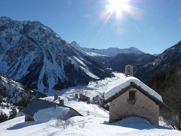 Jour 3 séjour raquettes aux bains du monetier vallée de cervières chapelle