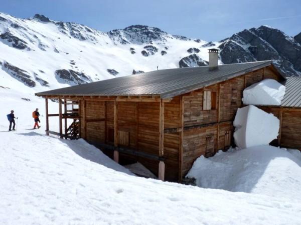 Le refuge Agnel (2600 m) en Queyras