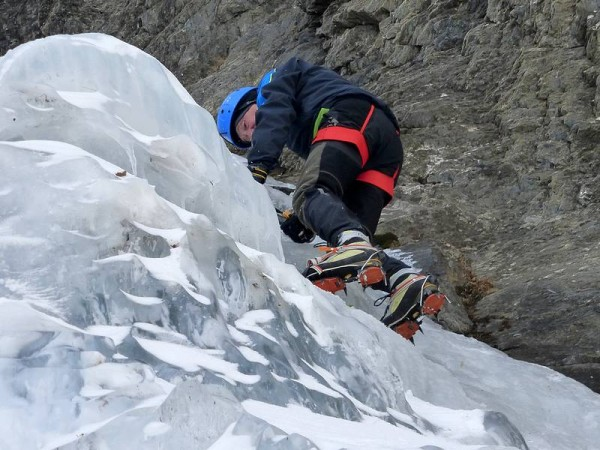 Cascade de Glace en Val Germanasca