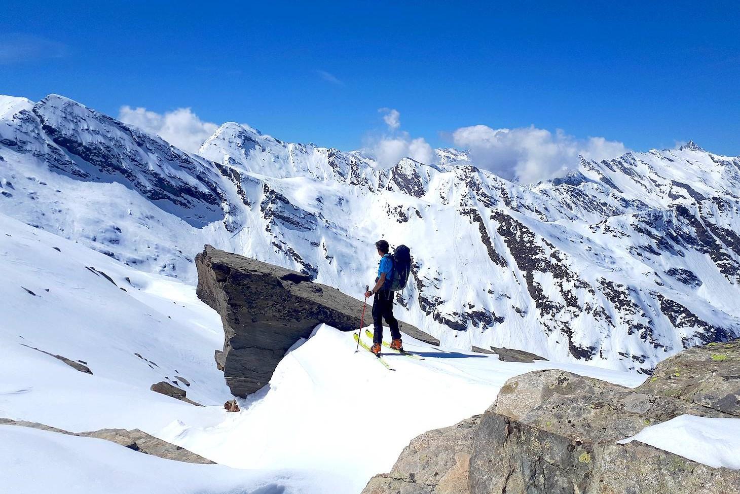 Ski Rando - Cascade Glace - Escalade à Prali