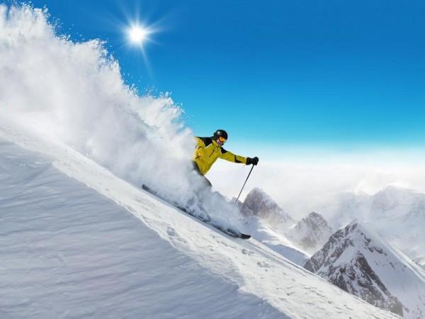 ski free-ride à Prali Italie