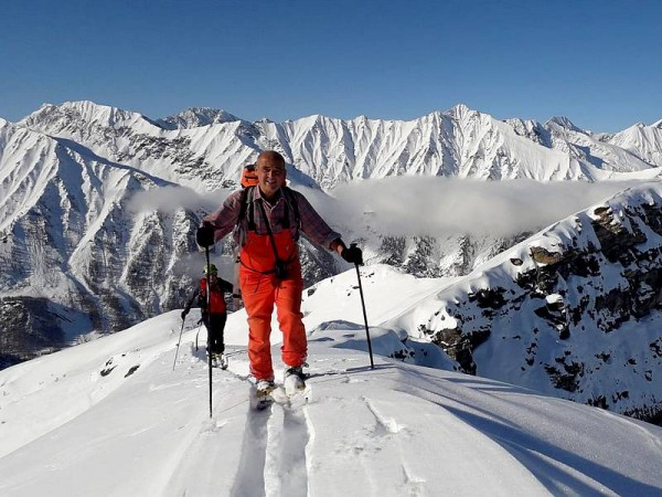 ski en haut val germanasca