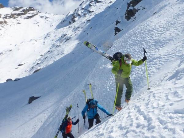 Ski alpinisme à Prali