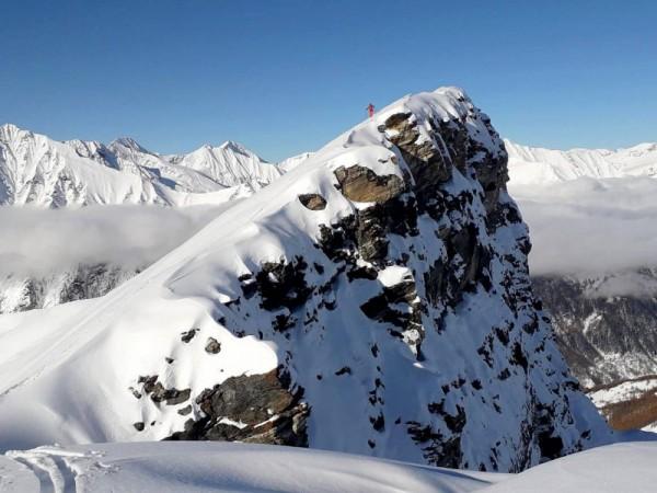 ski de randonnée val germanasca