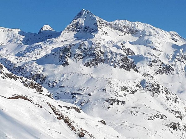 Haut Val Spluga frontière Italo-Suisses