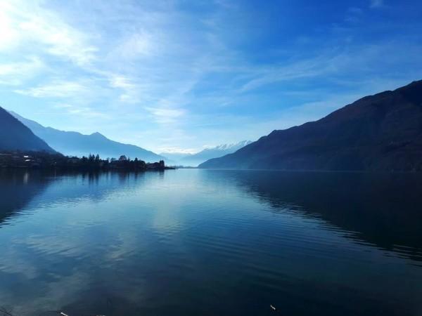 Lac de Côme en montant à Madesimo