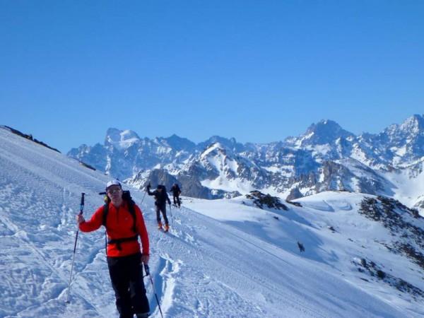 Massif du Thabor à ski