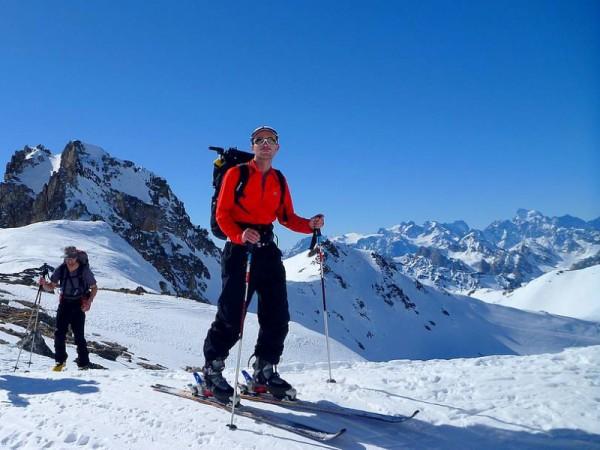 Massif du Thabor à ski de rando