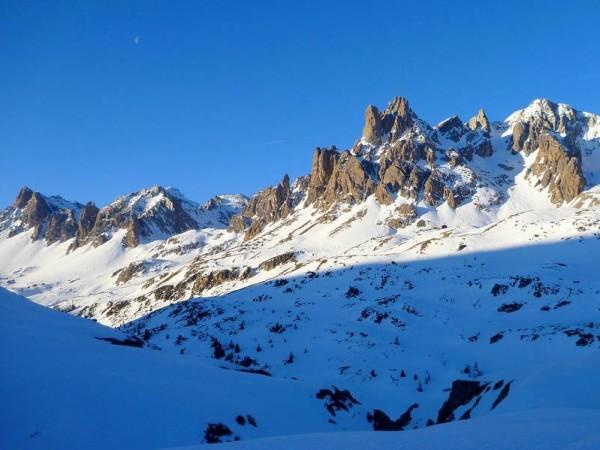 Haute Clarée à ski
