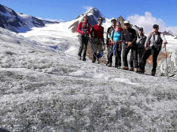 Glaciers de l'Otztal Autriche