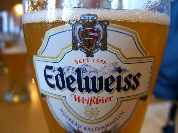 Bière traditionnelle du Tyrol Autrichien