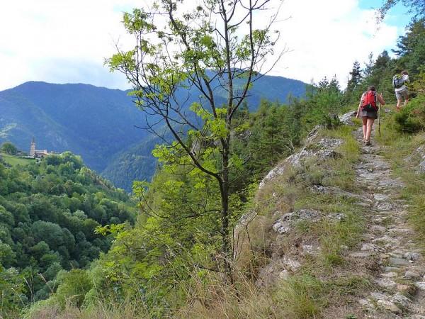 Sentier antique muletier entre Prazzo et Elva