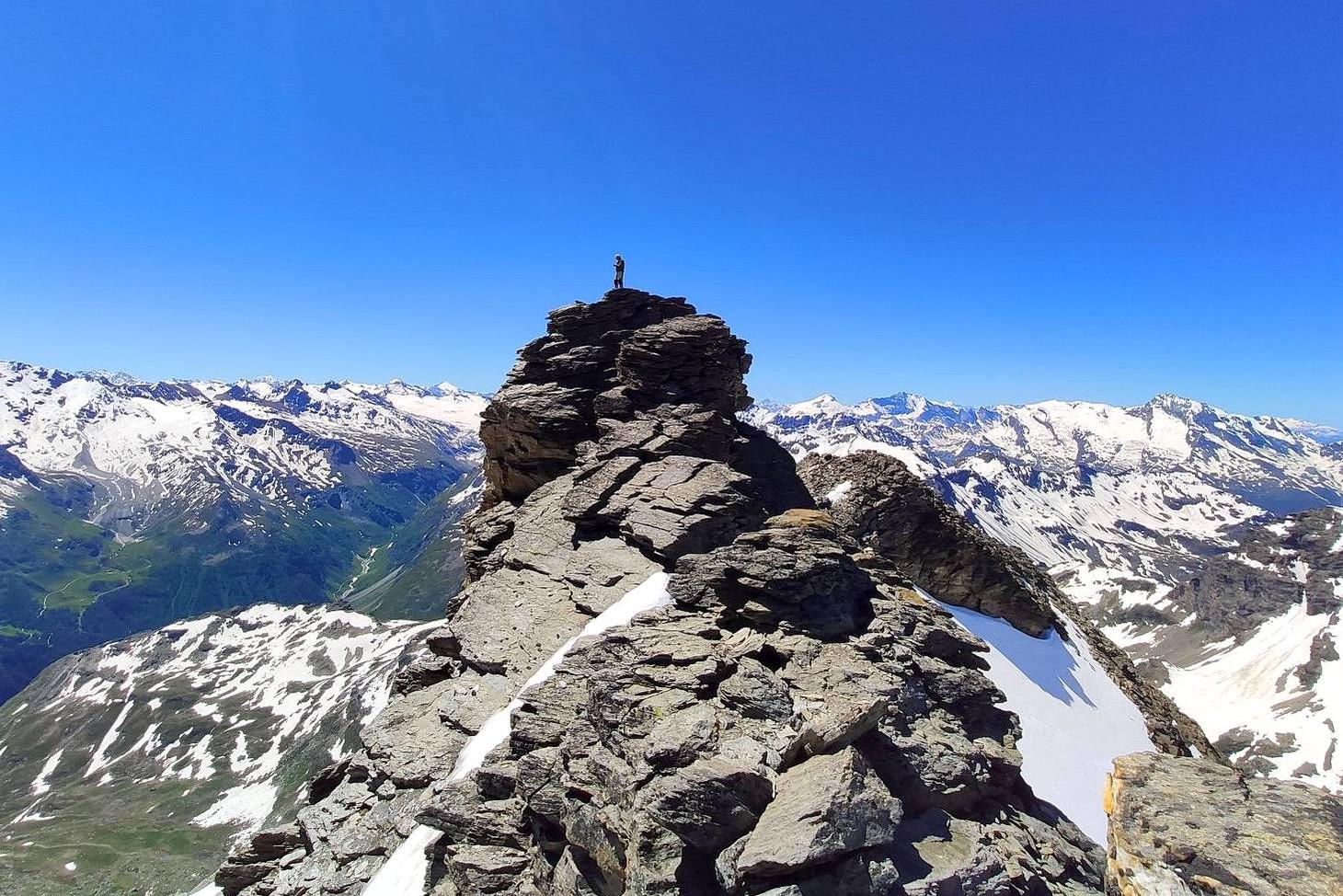 Glacier et Tête du Ruitor (3486 m)