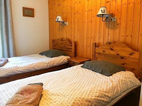 Exemple de chambre double au gîte (non contractuel)