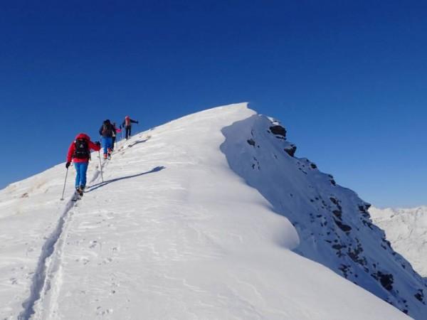 Montée au Pic Cascavelier en Queyras
