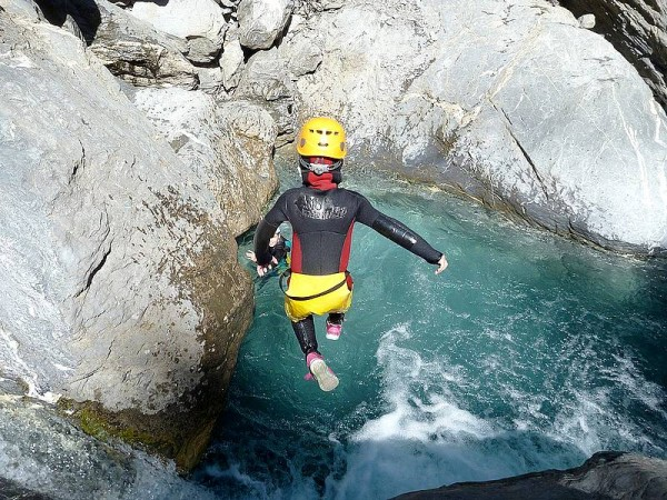 canyoning écrins