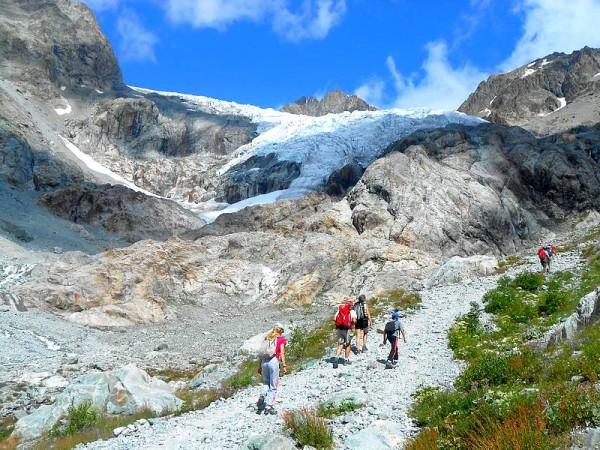 randonnée glacier blanc écrins