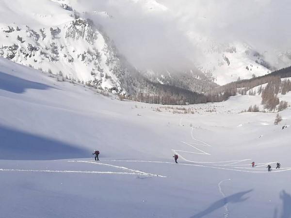 Montée au Col du Longet - Queyras