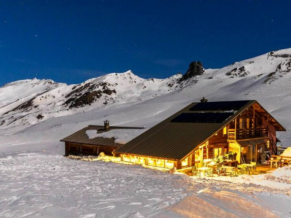 Refuge de la Blanche en Queyras (2500 m)