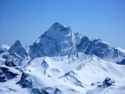 Mont Viso (3841 m) - Ski de randonnée avec guide Haute Montagne - Ecrins - Queyras