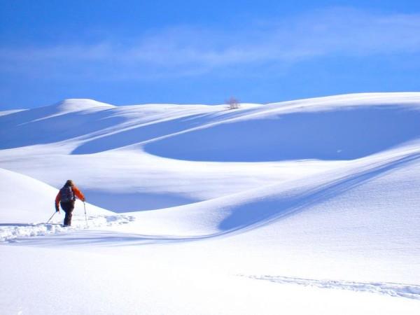 montée en douceur - Ski de randonnée avec guide Haute Montagne - Ecrins - Queyras