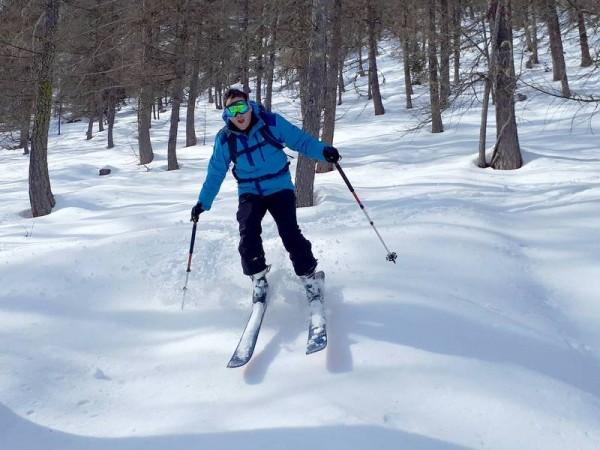 A l'aise dans les Mélèzes - Ski de randonnée avec guide Haute Montagne - Ecrins - Queyras