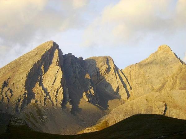 Pain de Sucre (3208 m) depuis le refuge Agnel