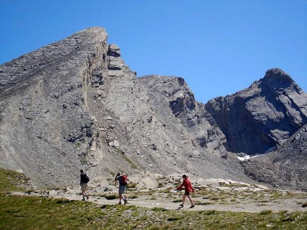Sous le Pain de Sucre (3208 m) - Tour du Queyras GR58