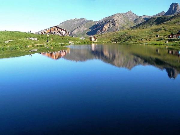 Lac et Refuge de la Blanche - raid des refuges du Haut Queyras